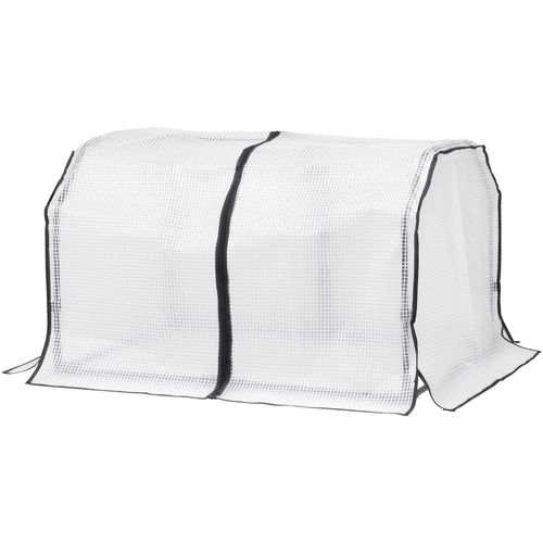 Vegtrug 1m Small Frame And Greenhouse Cover