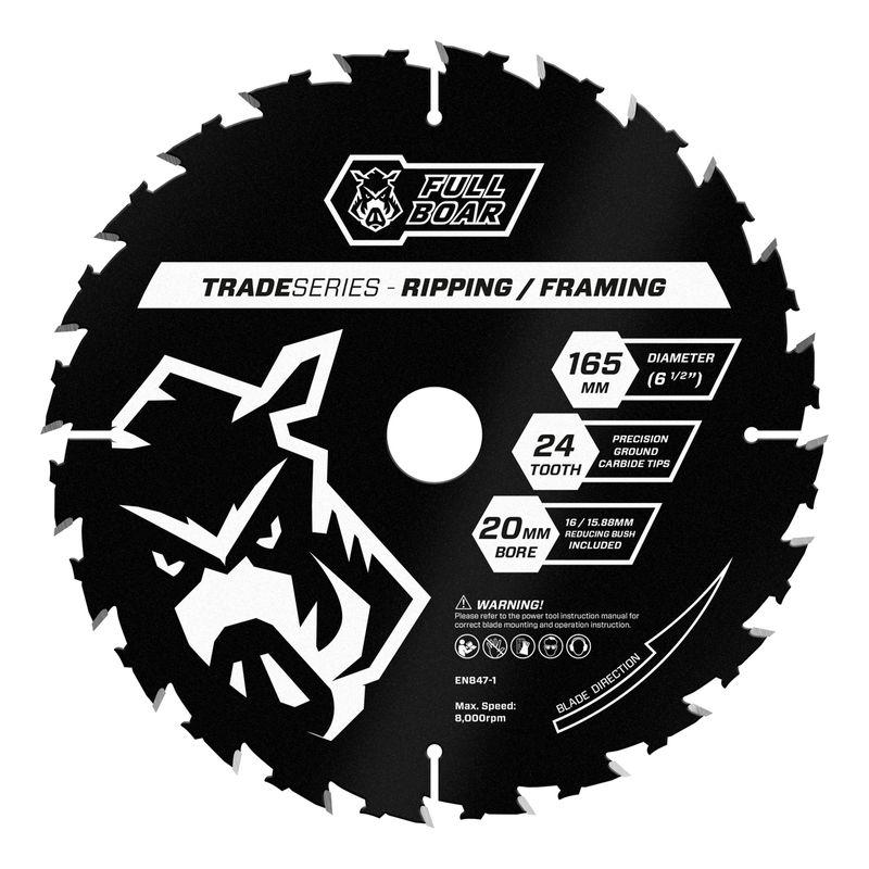 165mm 24t Trade Series Circular Saw Blade