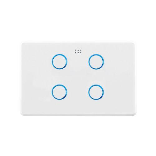 Deta Grid Connect Smart Quad Gang Touch Light Switch