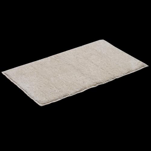 Softouch 75 x 45cm Ivory Microfibre Bathmat