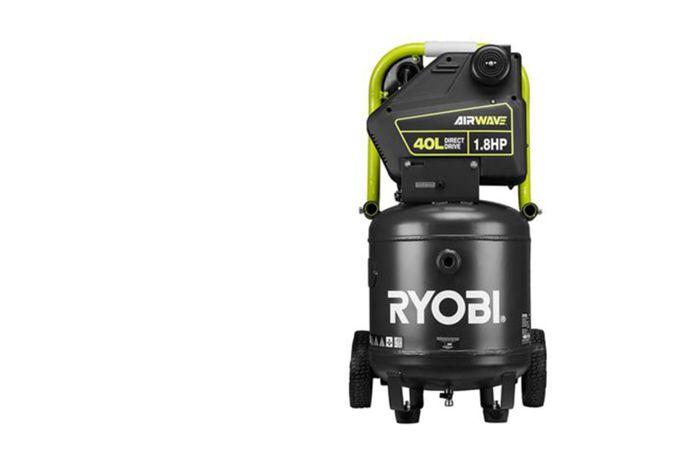 RYOBI Airwave 40L 1.8HP Upright Air Compressor Model RA-ACDDU1840