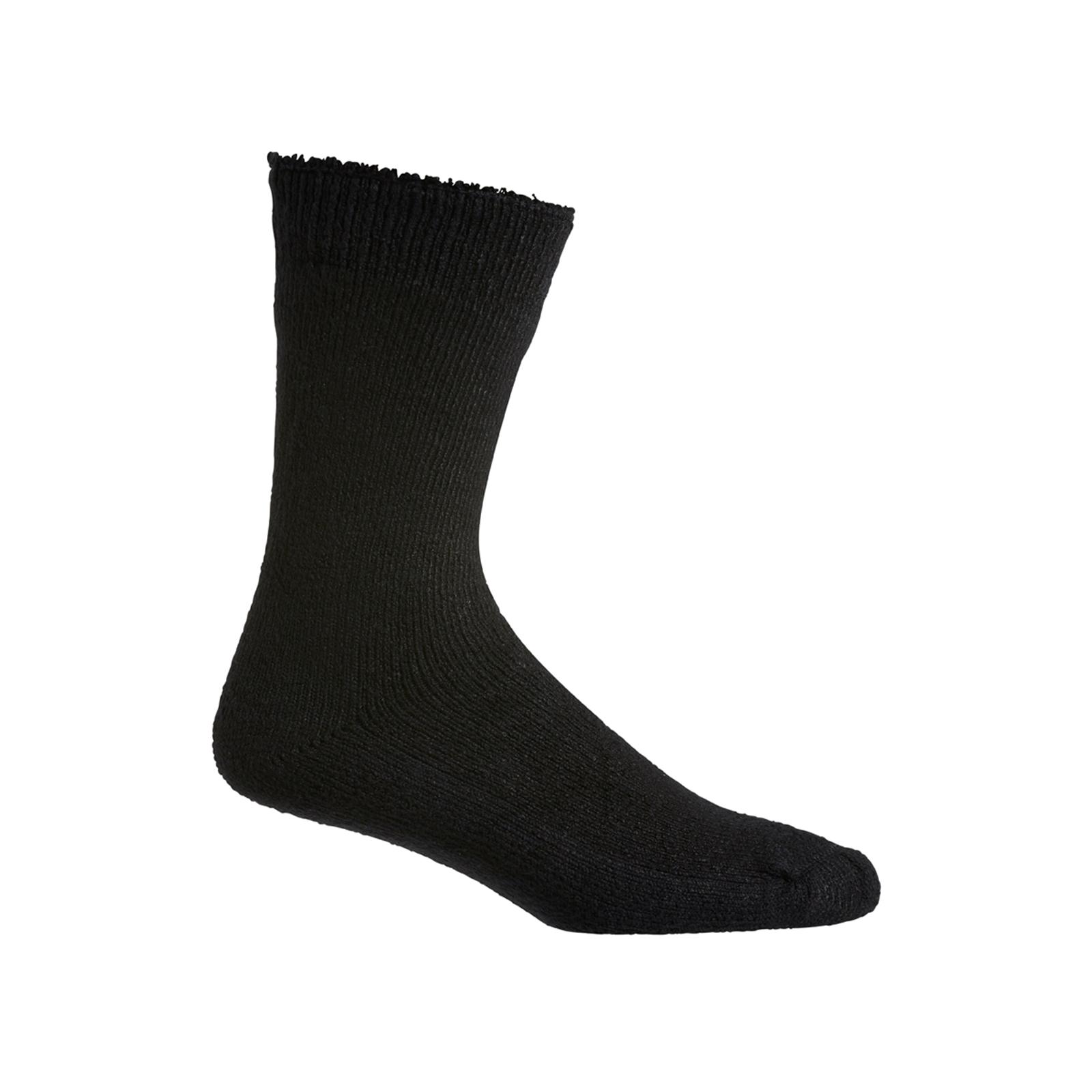 Hard Yakka 7-12 Black Bamboo Socks - 2 Pack