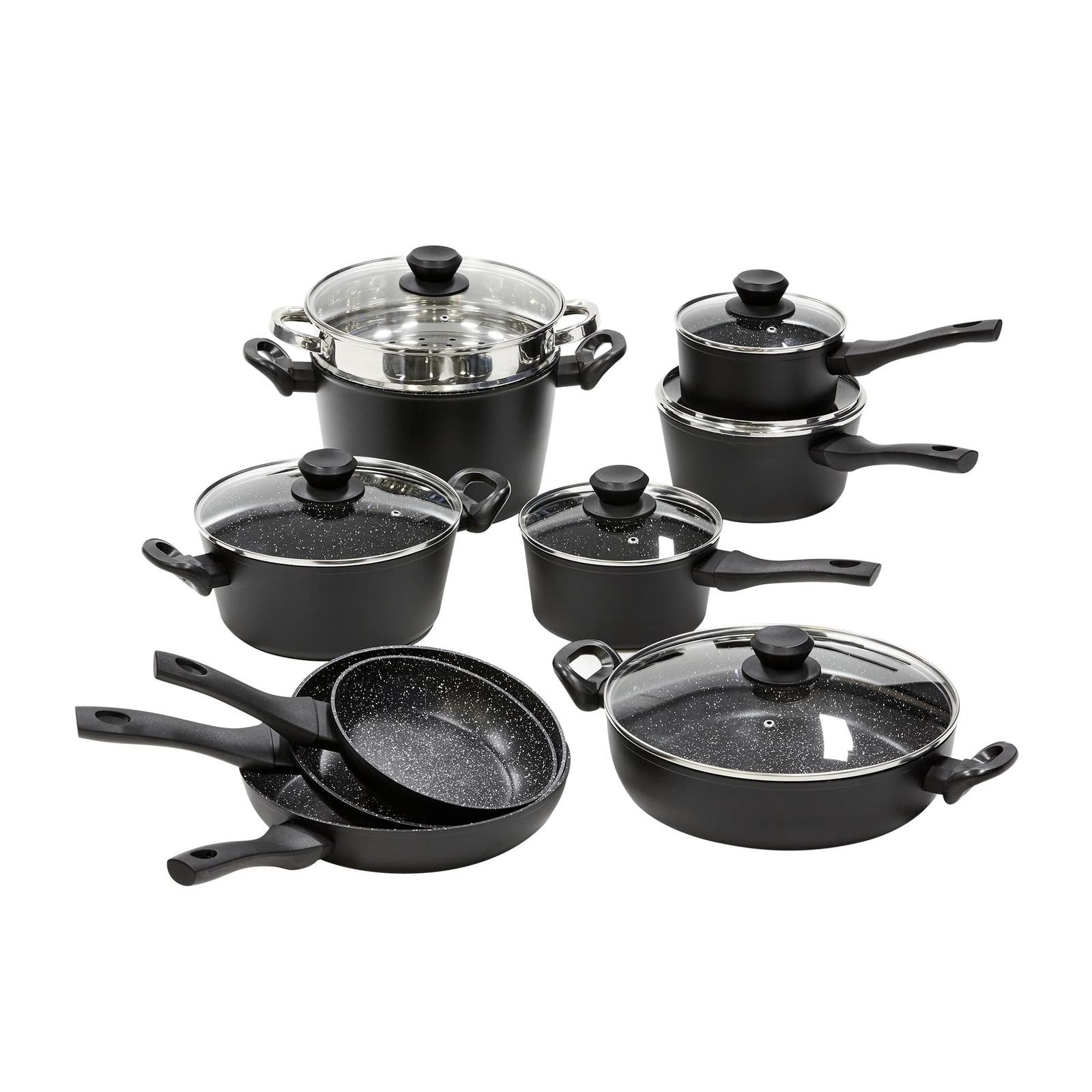 Wolstead Stonetek 10pc Cookware Set