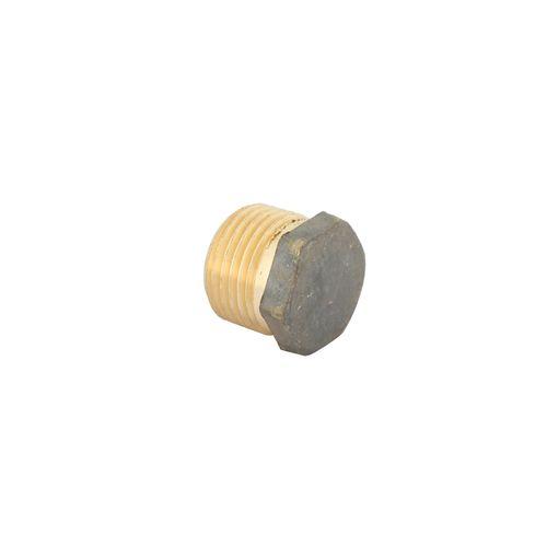 Kinetic 15mm Brass Threaded Hex Plug