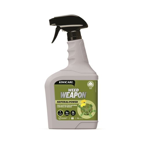 Kiwicare 1L Natural Power Weed Weapon