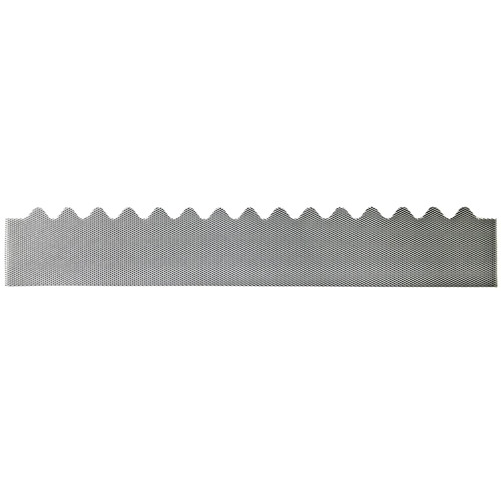GumLeaf 1200mm Colorbond Metal Corrugated Gutter Guard - Galvanised