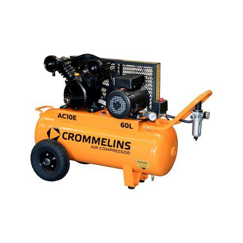 Crommelins 60L 2.2HP Electric Air Compressor