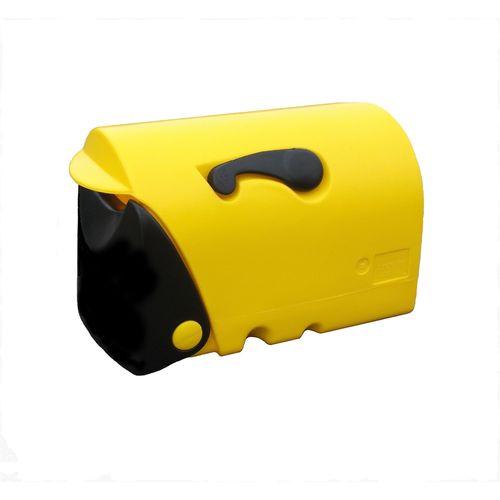 Wilsons Rural Letterbox Yellow/Black