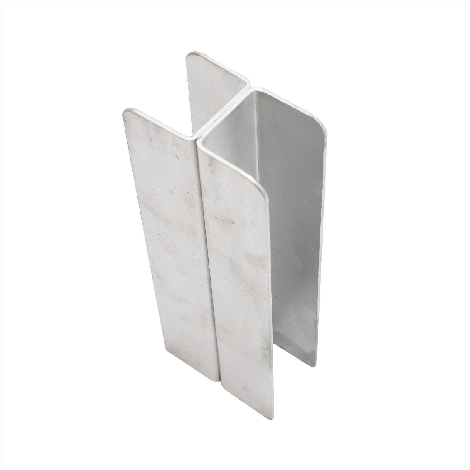 Ridgi 50mm x 50mm x 3mm x 1.5m Galvanised Steel Joiner Post