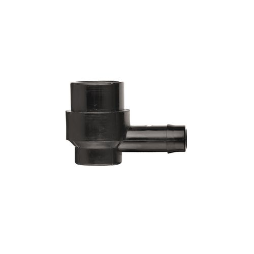 Pope 13 x 15mm Barbed Female Threaded Elbow - Single