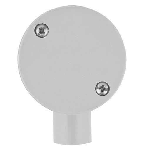 Deta 20mm Grey Conduit Fittings 1-Way LH Junction Box