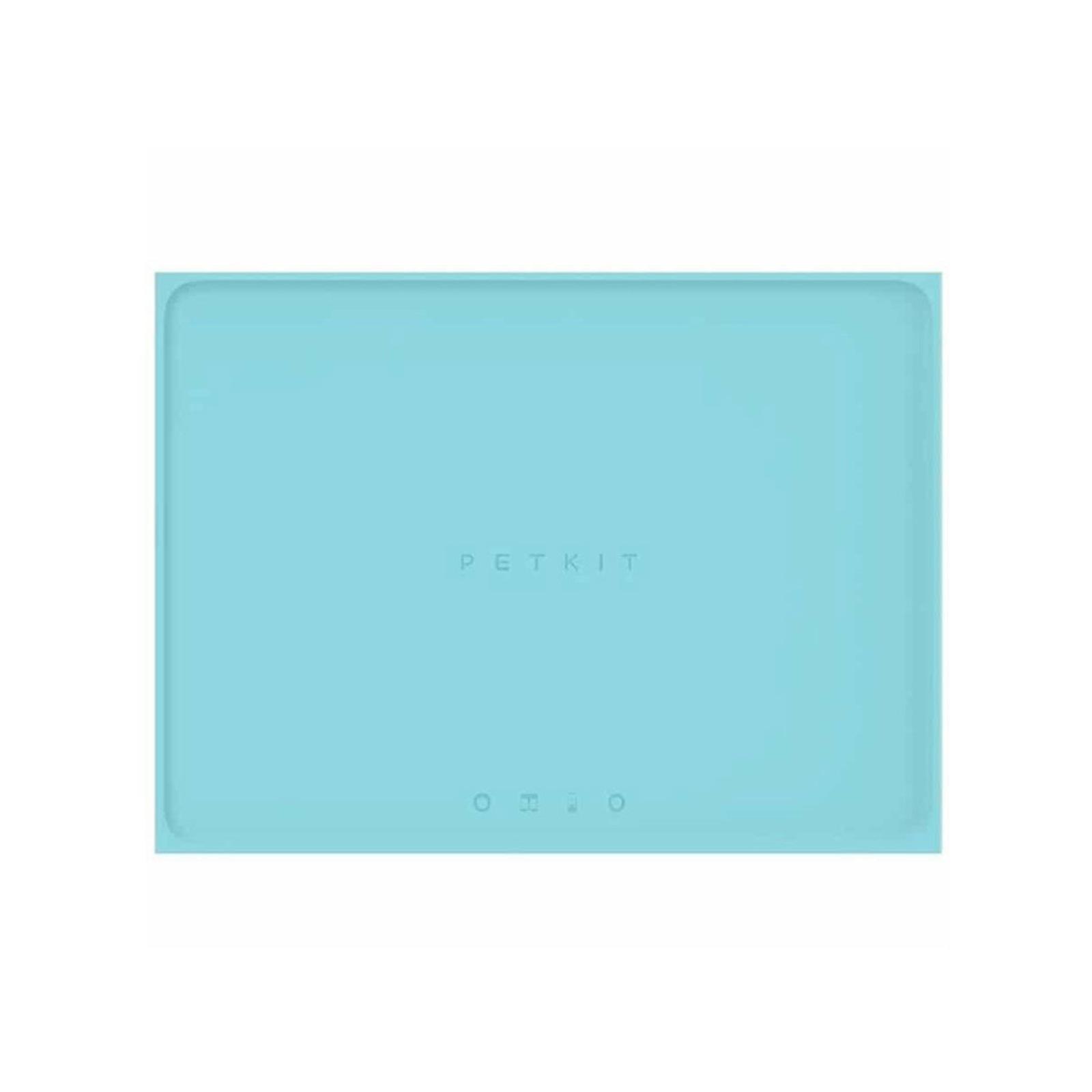 Petkit 46cm Waterproof Silicone Anti-Slip Mat for Dog/Cat Food/Water Bowl Blue