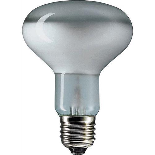 Philips 75W ES R80 Clear Floodlight Reflector Lamp