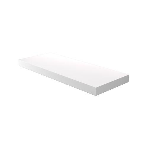 Flexi Storage Decorative Shelving 600 x 38 x 240mm Floating Shelf White Matte