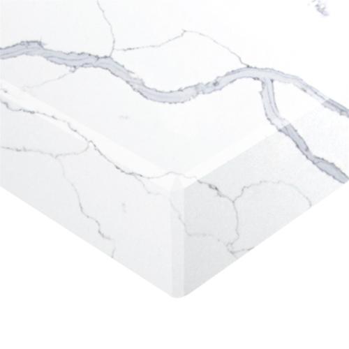 Essential Stone 40mm Square Premium Stone Benchtop - Statuario Grey