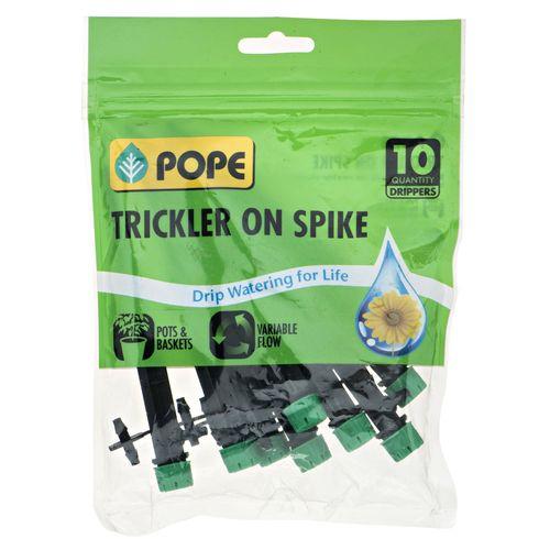 Pope Adjustable Flow Trickler On Spike - 10 Pack