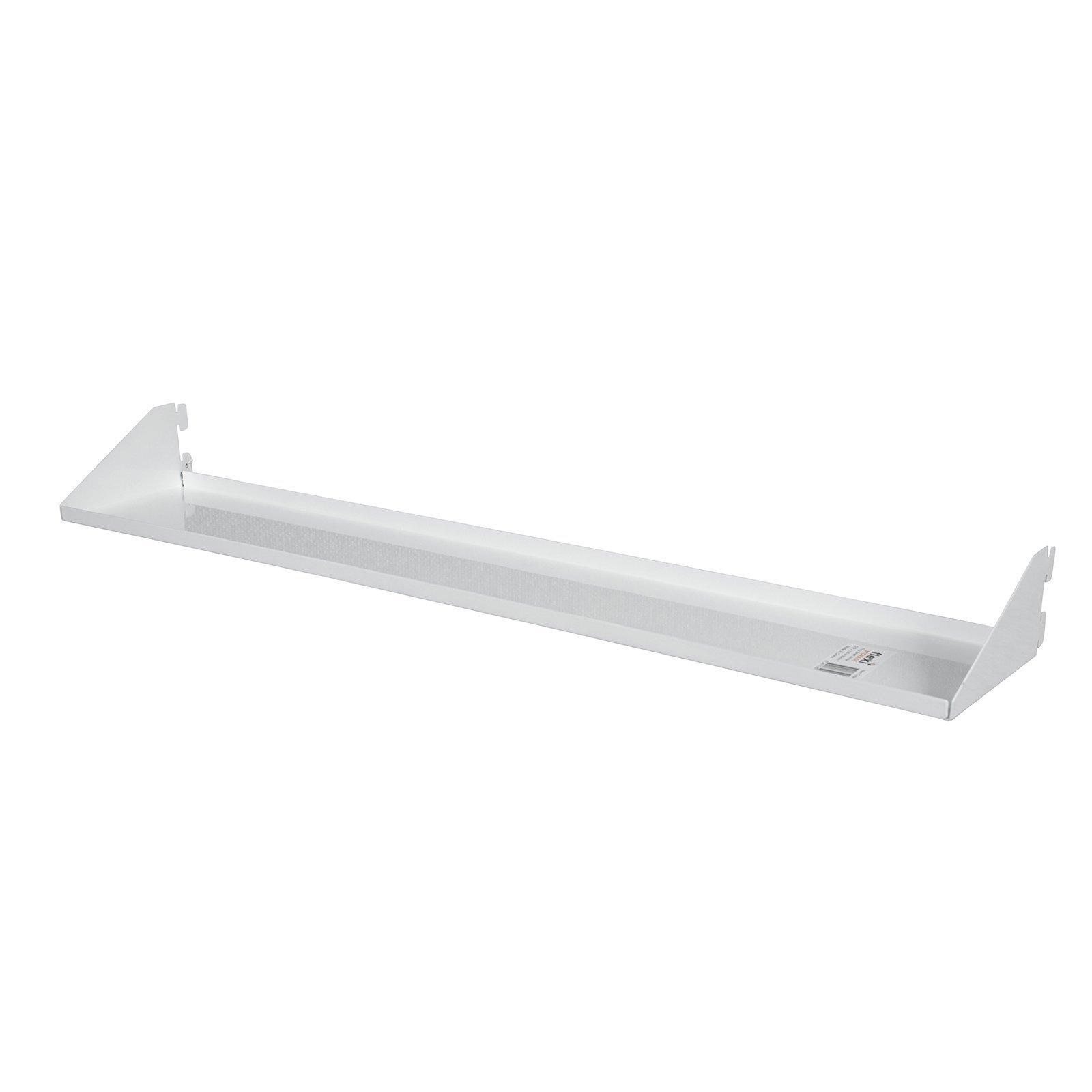 Flexi Storage 572 x 100 x 55mm White Tray Shelf