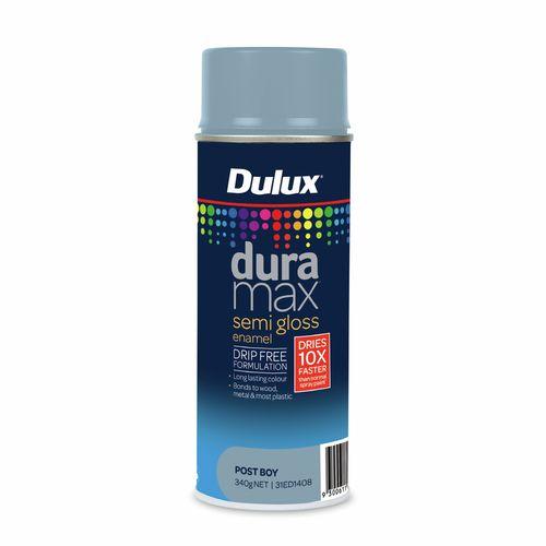 Dulux 340g Duramax Semi Gloss Post Boy Spray Paint