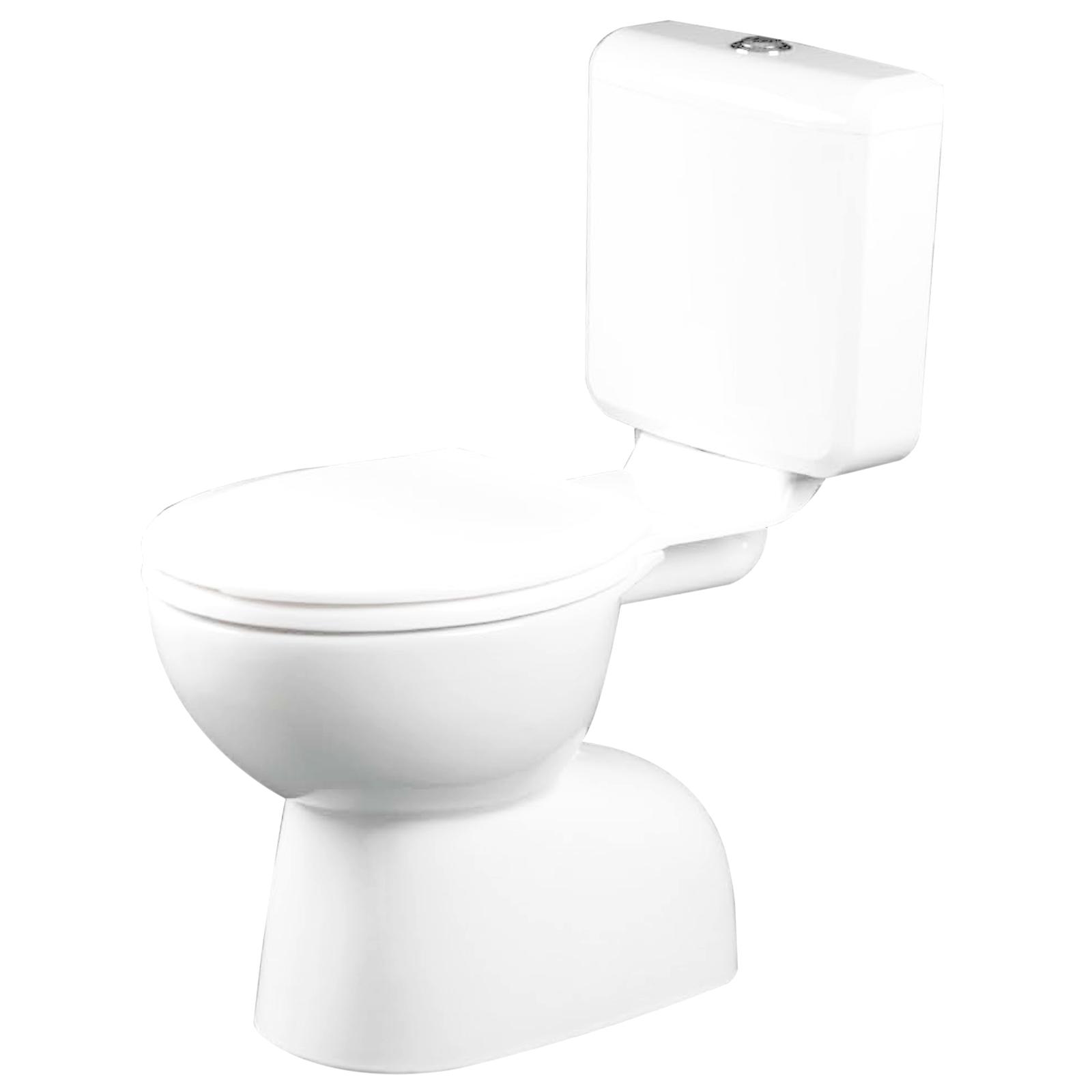 Estilo WELS 3 Star 3-6L/min PVC Link S Trap Toilet Suite