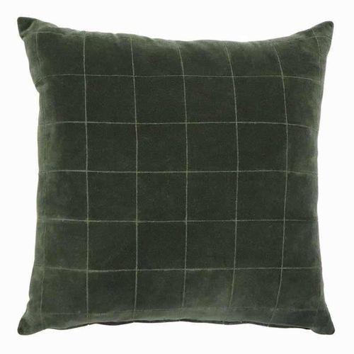 Selby Green Velvet Cushion