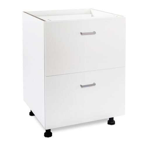 Flatpax 600mm 2 Drawer Utility Cupboard