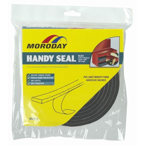 Moroday 6.4 x 25mm x 3m Garage Weatherseal