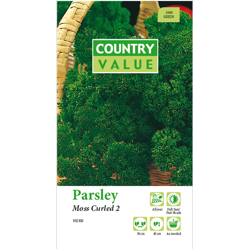 Country Value Moss Curled Parsley Seeds
