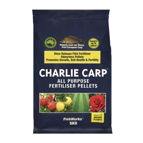 Charlie Carp 5kg All Purpose Fertiliser Pellets FishWorks