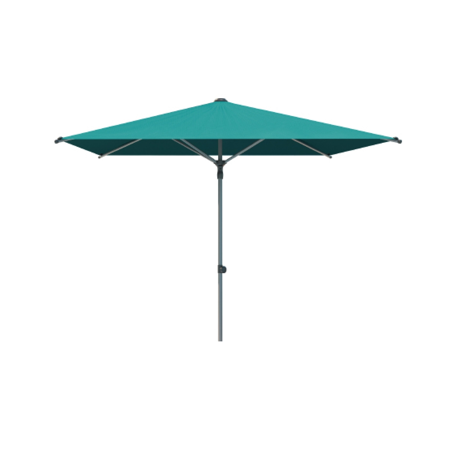 Coolaroo 2.7m Aqua Torquay Square Market Umbrella