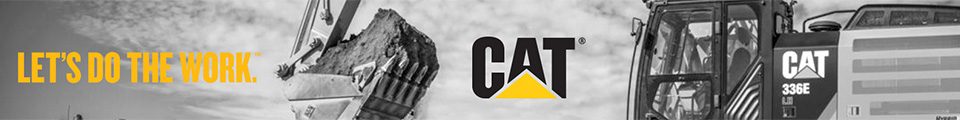 Promotional banner for CAT with caption Let's Do The Work