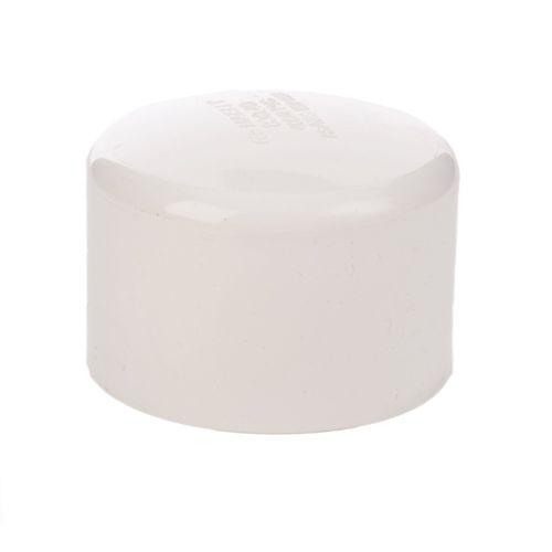 Marley 80mm White PVC Plain End Cap