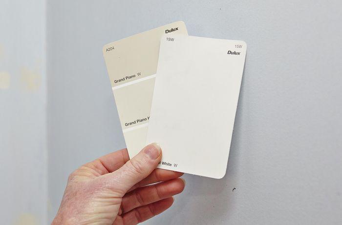 Choosing Dulux colour scheme