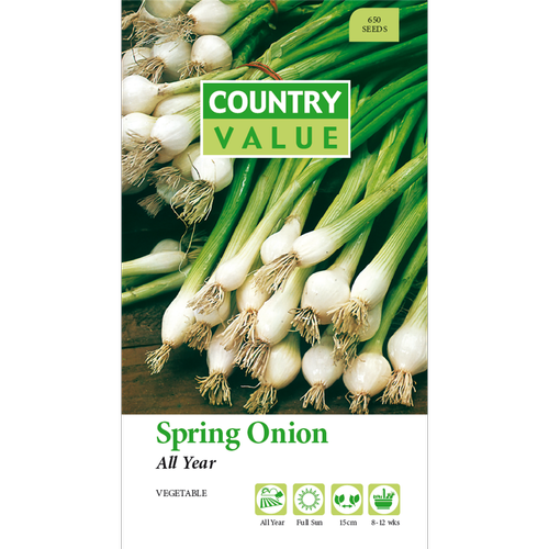 Country Value All Year Spring Onion Vegetable Seeds