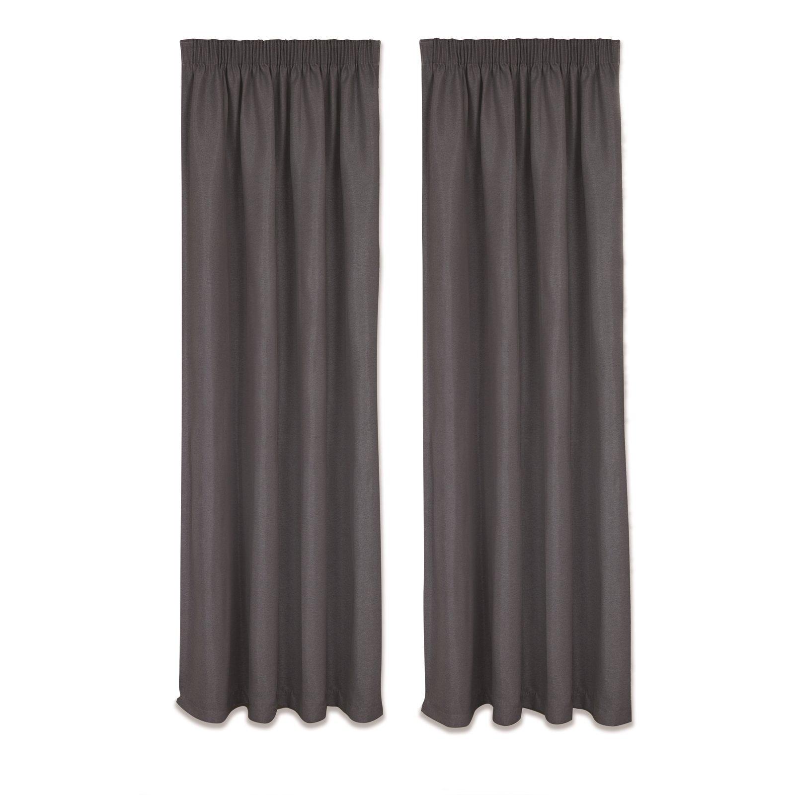 Home Profile 2.3 - 3 x 1.6m Berlin Triple Weave Curtain