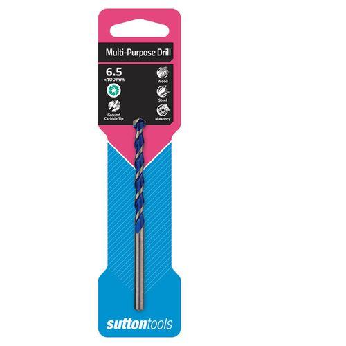 Sutton Tools 6.5 x 100mm Multi Purpose Drill Bit
