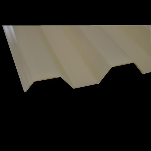 Suntuf 2.4m Smooth Cream Greca Polycarbonate Sheet