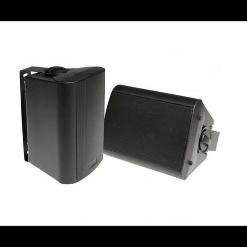 """4"""" 2-Way Indoor/Outdoor Universal Speakers Black SA500BNZ"""