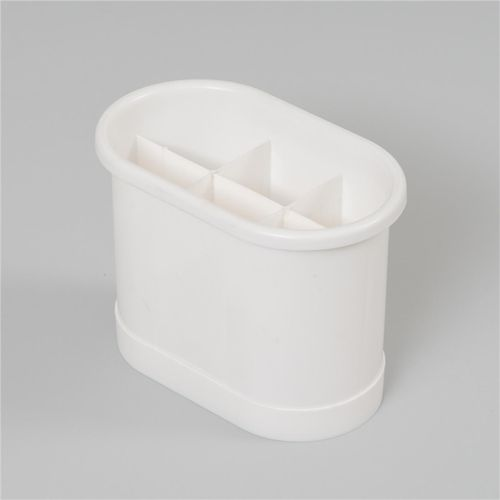 LTW Large White Cutlery Holder Drainer Dish