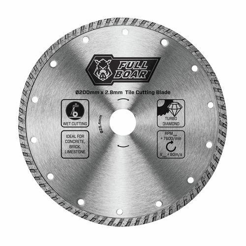 Full Boar 200mm Turbo Diamond Blade