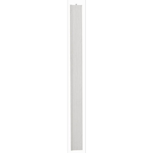Pillar Products 15 x 203cm White Oak PVC San Marino Concertina Door Panel