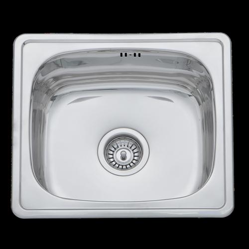 Mondella Cadenza Stainless Steel Rectangular Single Bowl Sink