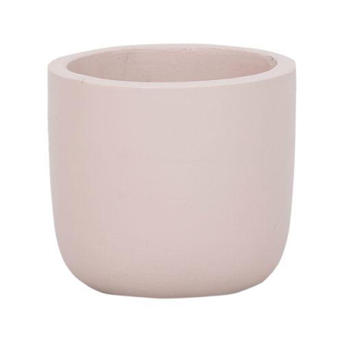 Lotus 14 x 12cm Cream Small Plain Ceramic Egg Pot