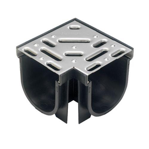 Everhard EasyDRAIN Pressed Stainless Steel Grate & Corner