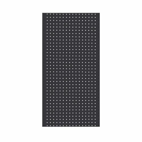 Pinnacle 900 x 450mm Matte Black Metal Pegboard