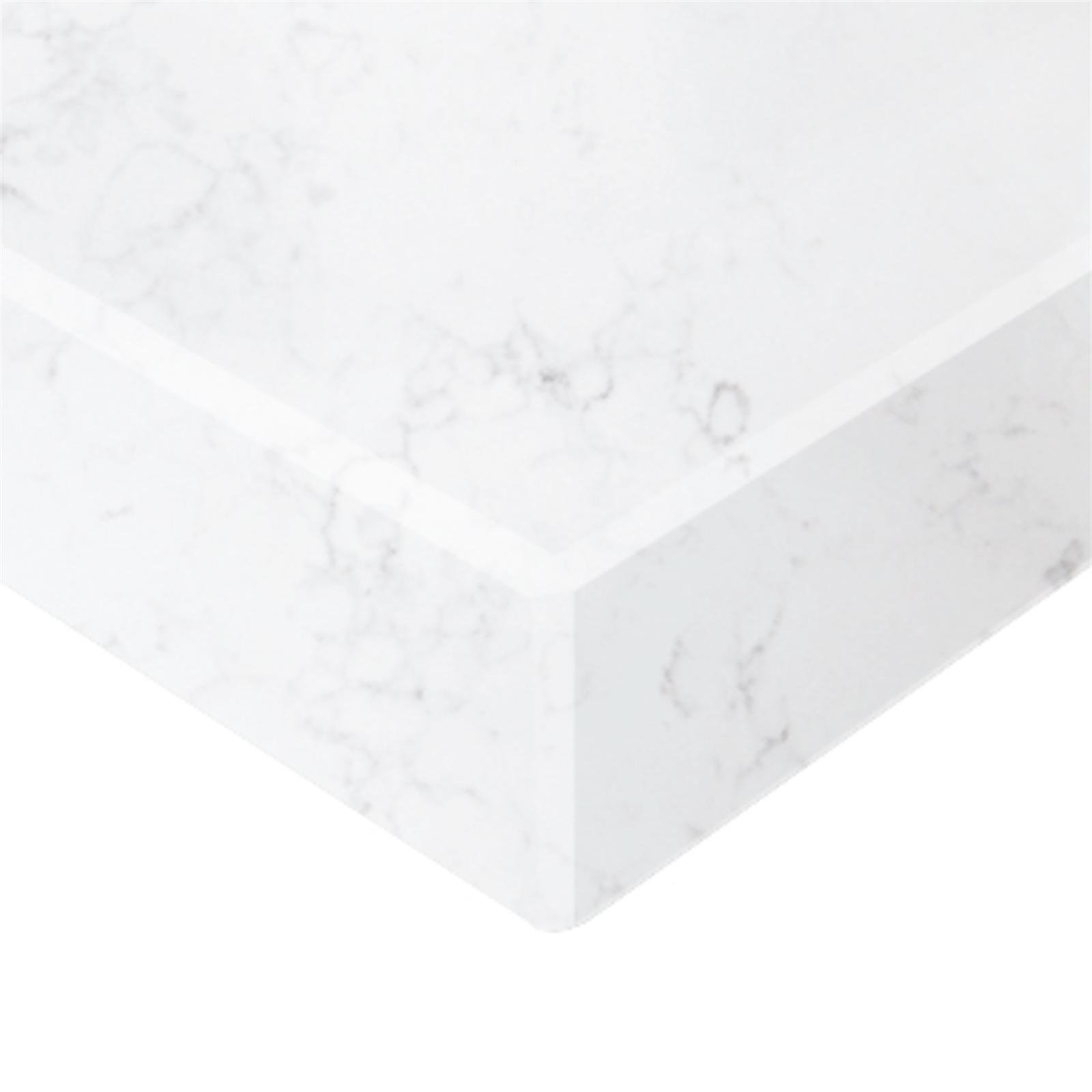 Essential Stone 40mm Round Creative Stone Benchtop - Carrar Marfil