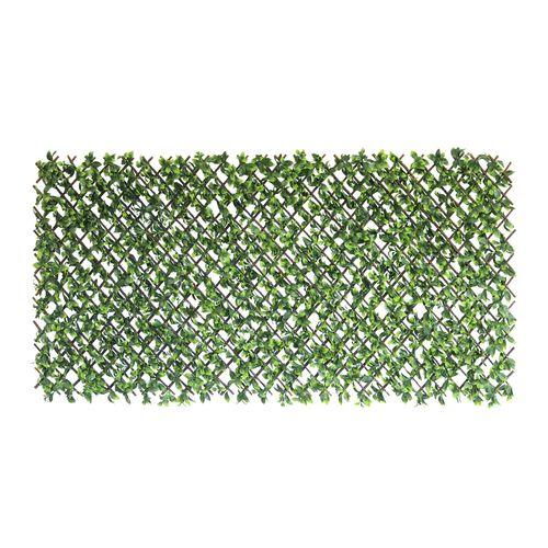 UN-REAL 180cm x 90cm Pittosporum Artificial Trellis Expandable Hedge