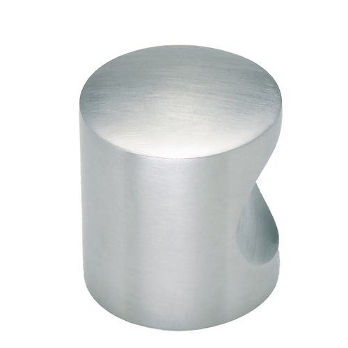 Gainsborough Stainless Steel Notched Style Cabinet Knob