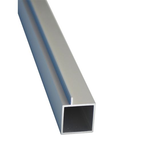 Connect-it 25.4 x 25.4 x 1.2mm 1.8m Anodised Aluminium Square Tube With Lip