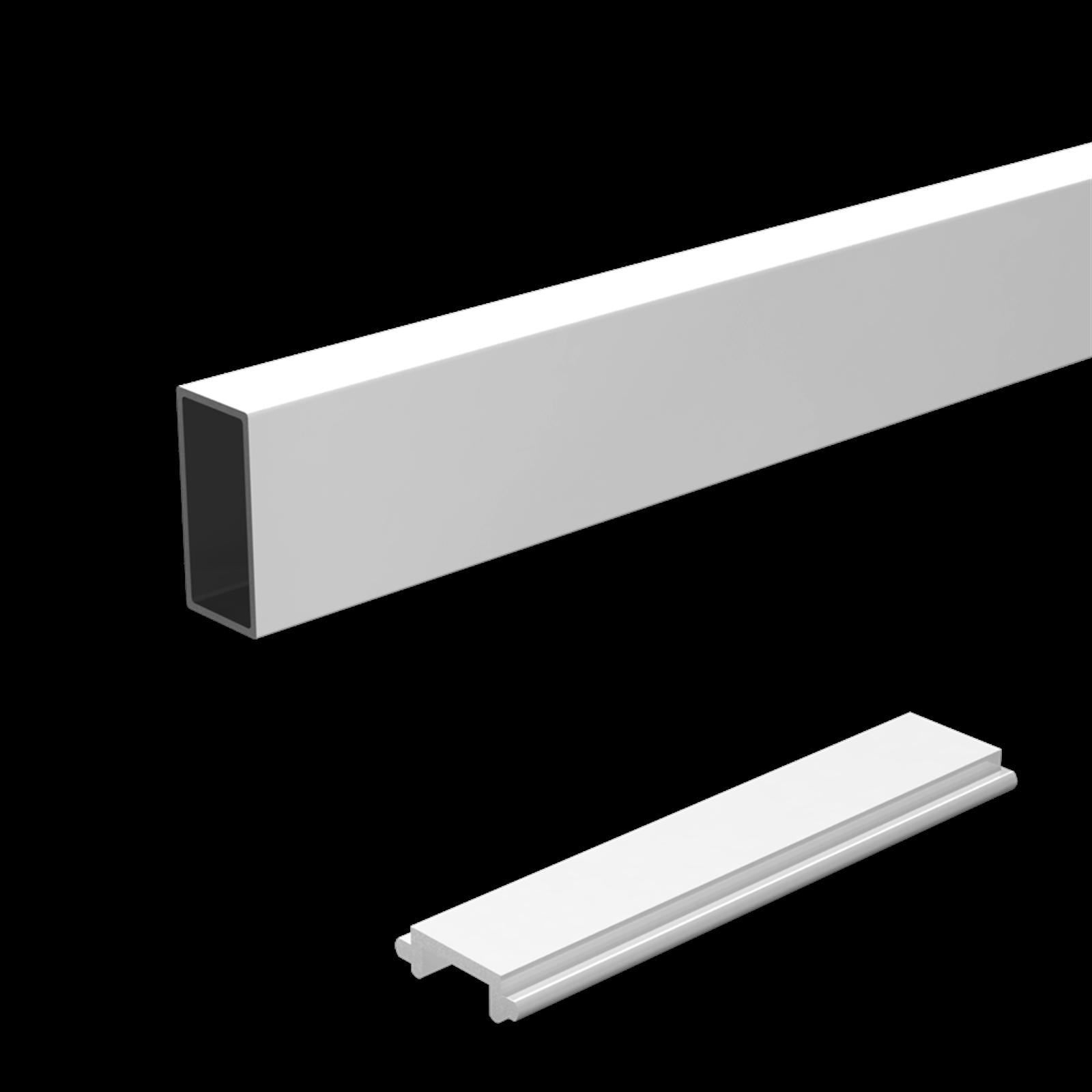 Peak 1800mm Aluminium Balustrade Wide Baluster And Spacer Kit