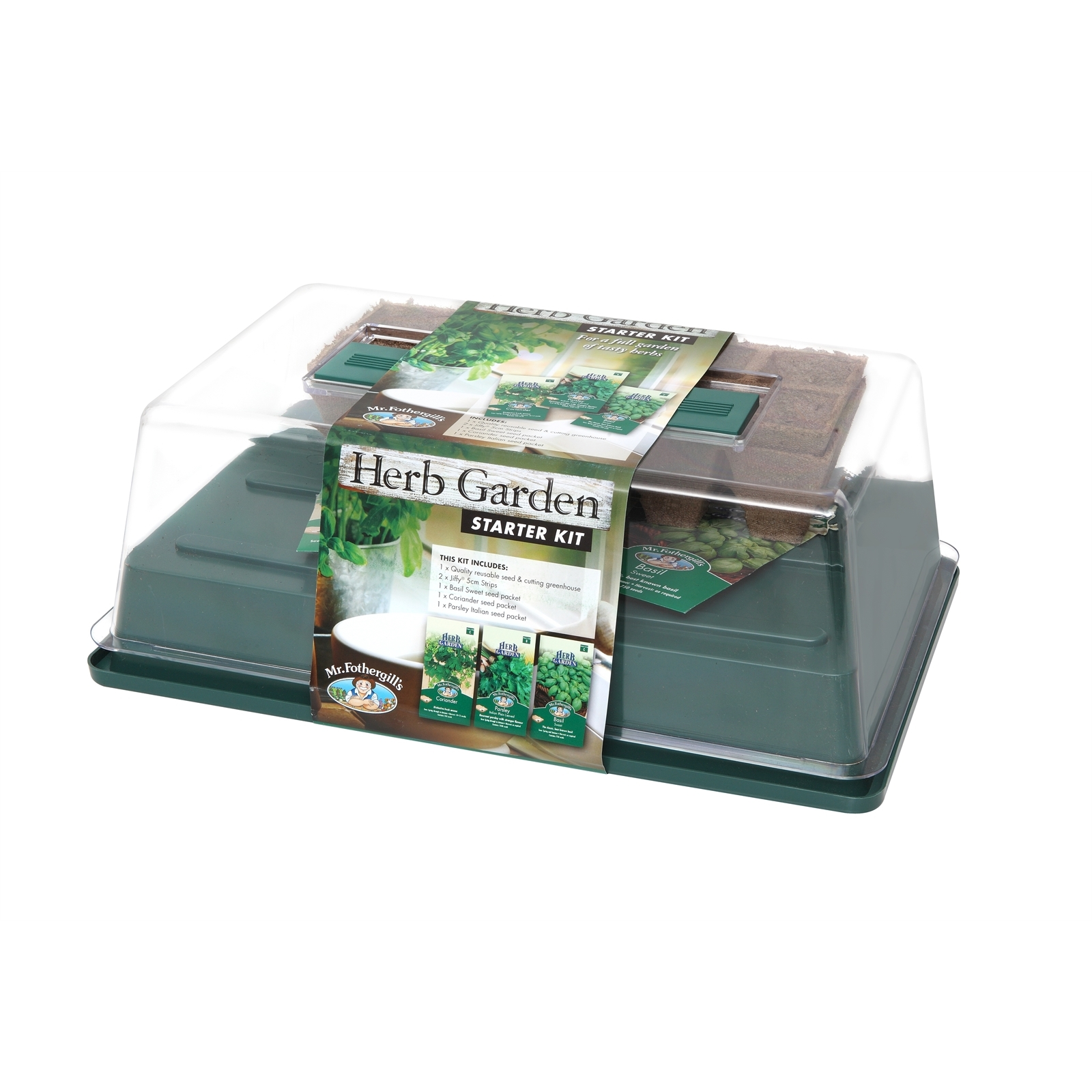 Mr Fothergill's Herb Garden Starter Kit
